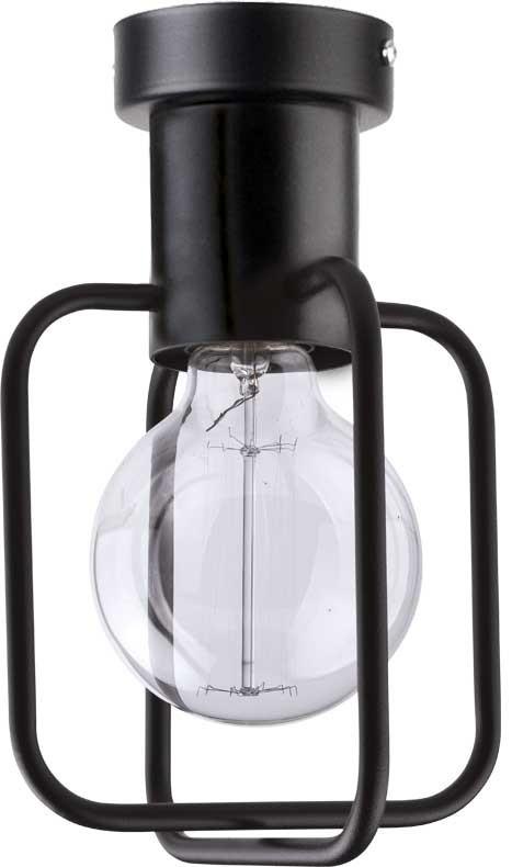 Lampa sufitowa Aura kwadrat 1 czarna 31113 - Sigma Do -17% rabatu w koszyku i darmowa dostawa od 299zł !