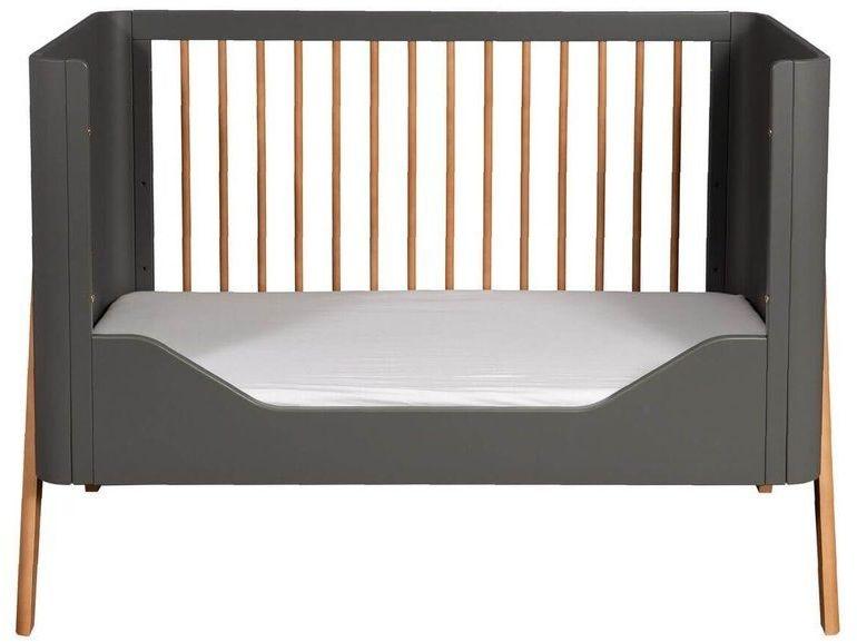 Wymienny bok do łóżeczka torsten 120x60 toddler rail troll nursery (k. ciemny szary)