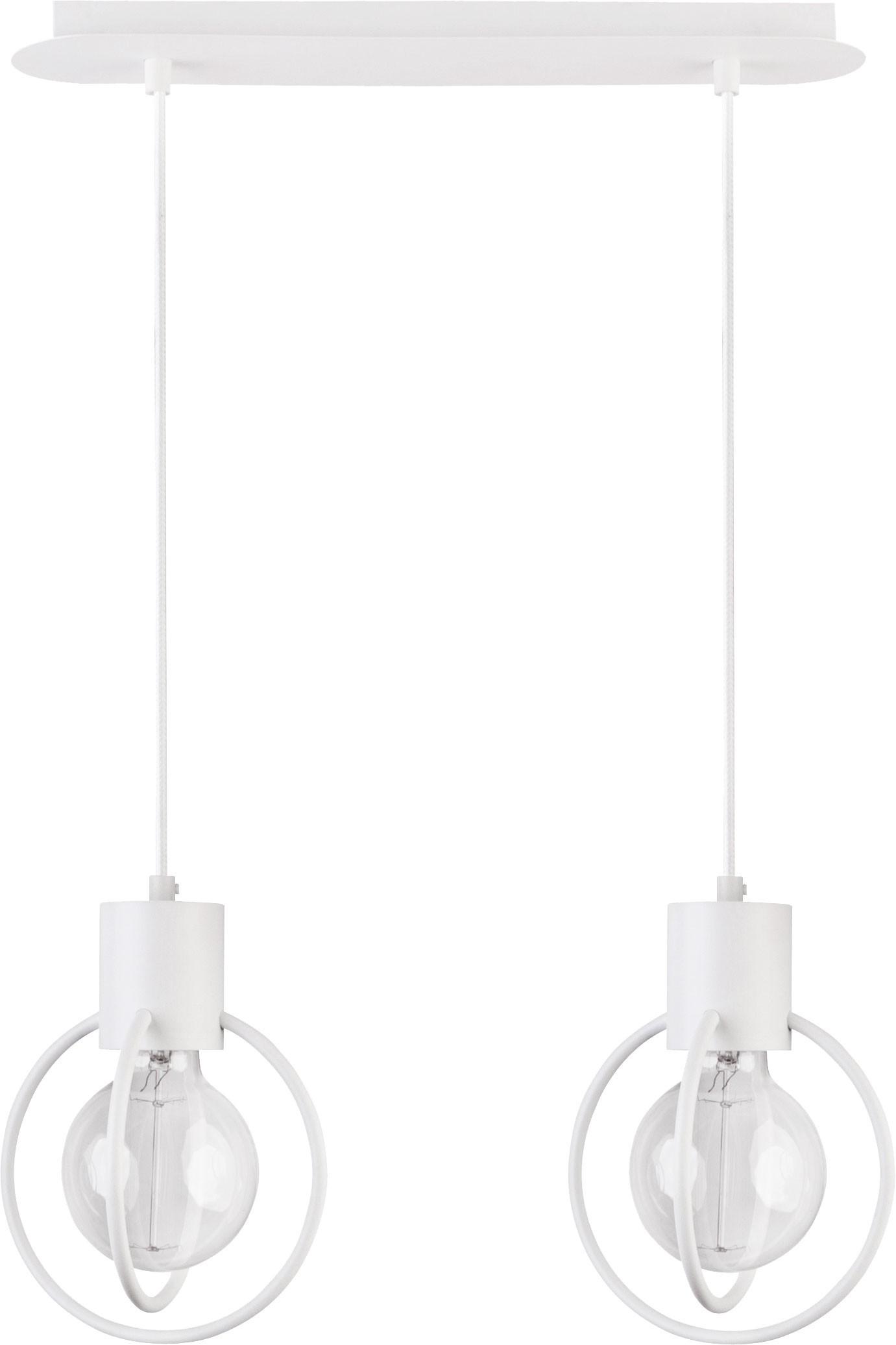 Lampa wisząca Aura koło 2 biała mat 31100 - Sigma Do -17% rabatu w koszyku i darmowa dostawa od 299zł !