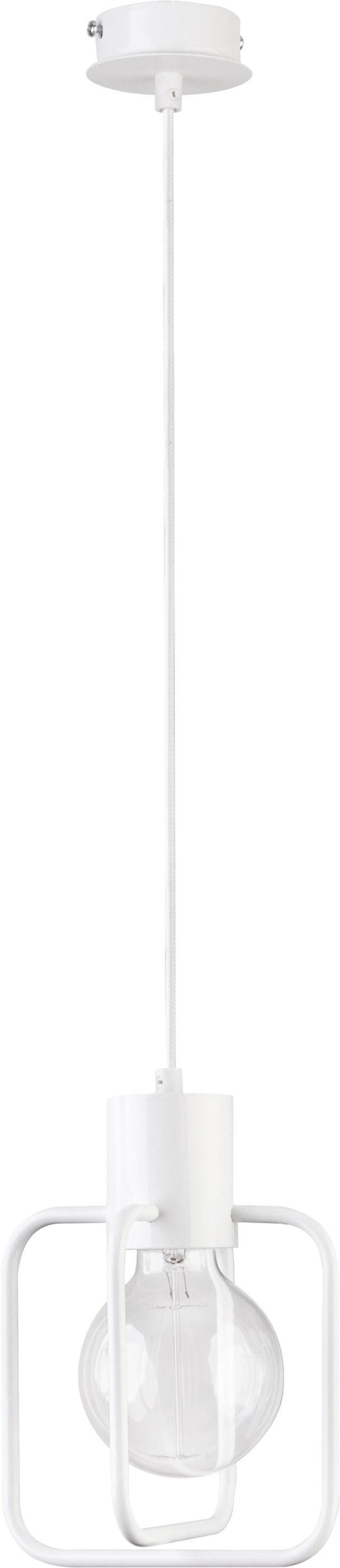 Lampa wisząca Aura kwadrat 1 biała 31121 - Sigma Do -17% rabatu w koszyku i darmowa dostawa od 299zł !
