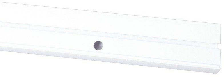 Szyna sufitowa PCV jednotorowa