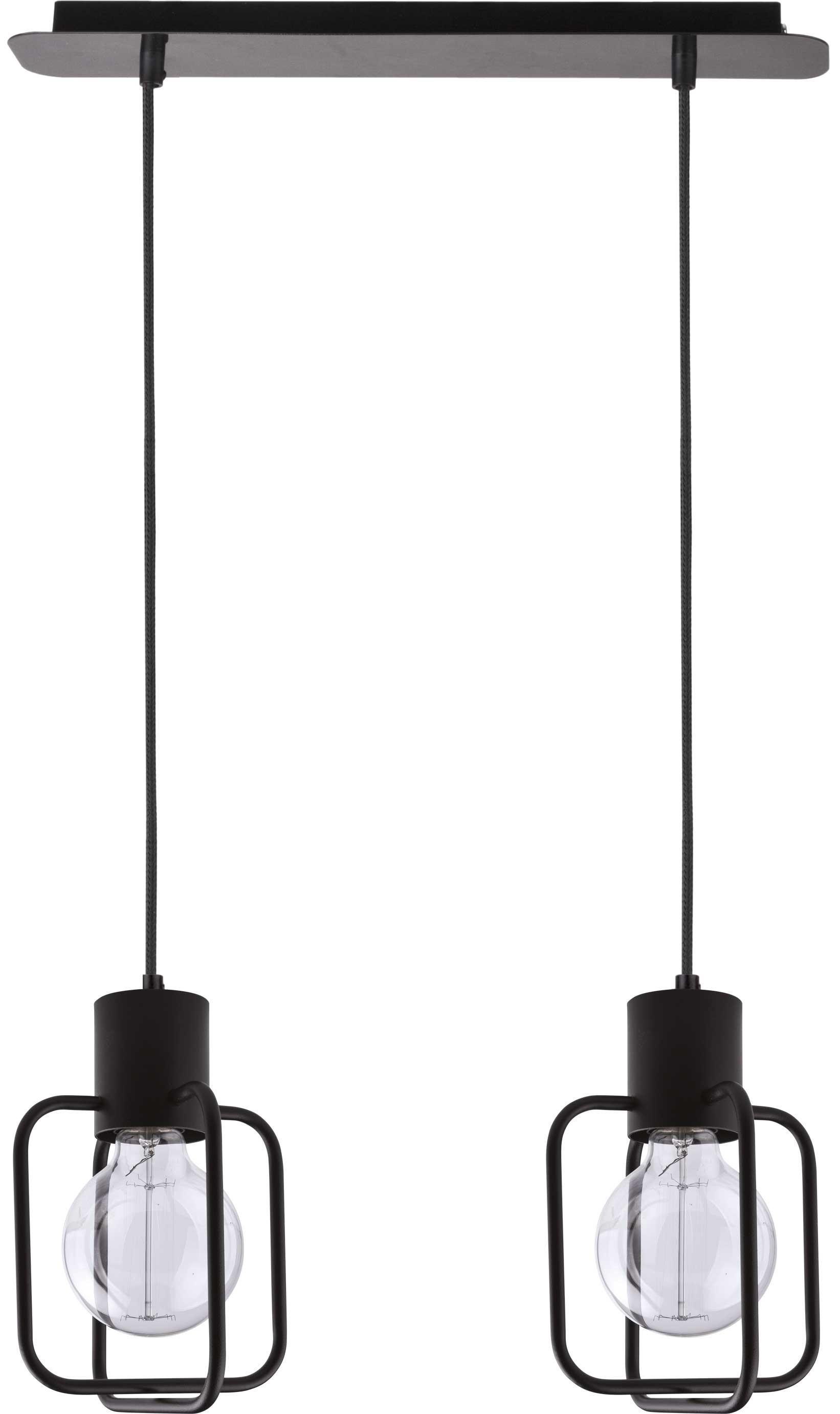 Lampa wisząca Aura kwadrat 2 czarna 31111 - Sigma Do -17% rabatu w koszyku i darmowa dostawa od 299zł !