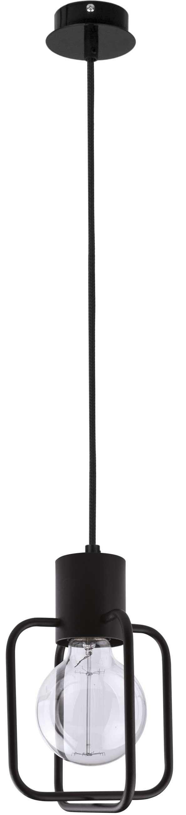 Lampa wisząca Aura kwadrat 1 czarna 31110 - Sigma Do -17% rabatu w koszyku i darmowa dostawa od 299zł !