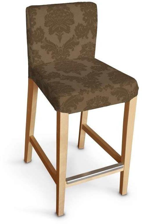 Sukienka na krzesło barowe Henriksdal krótka 613-88, krzesło barowe Henriksdal