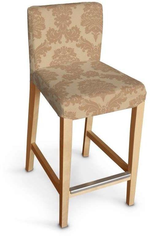 Sukienka na krzesło barowe Henriksdal krótka 613-04, krzesło barowe Henriksdal