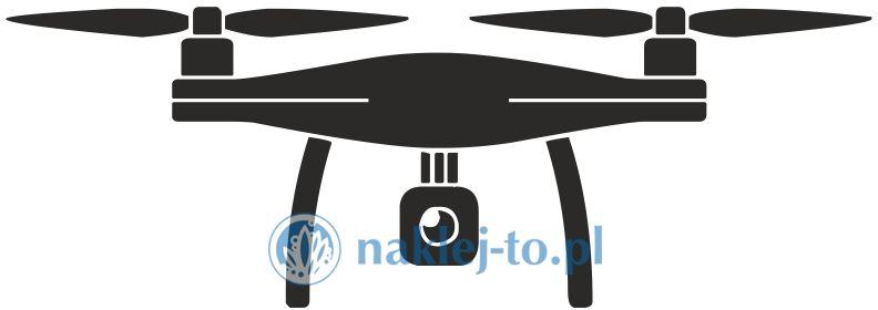 naklejka dron 1 naklejka na ścianę