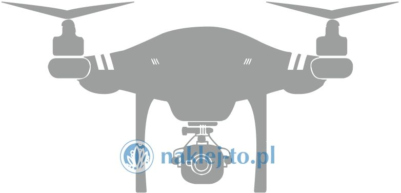 naklejka dron 2 naklejka na ścianę