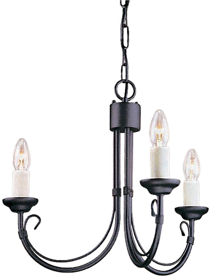Chartwell Black - Elstead Lighting - lampa wisząca klasyczna