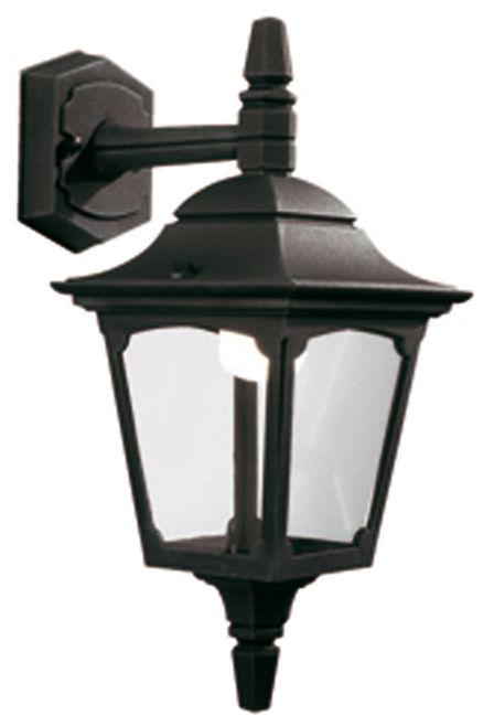 Kinkiet zewnętrzny Chapel Mini CPM2 BLK Elstead Lighting klasyczna oprawa w kolorze czarnym