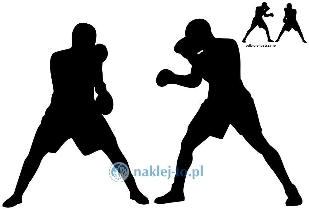 naklejka bokserzy naklejka na ścianę