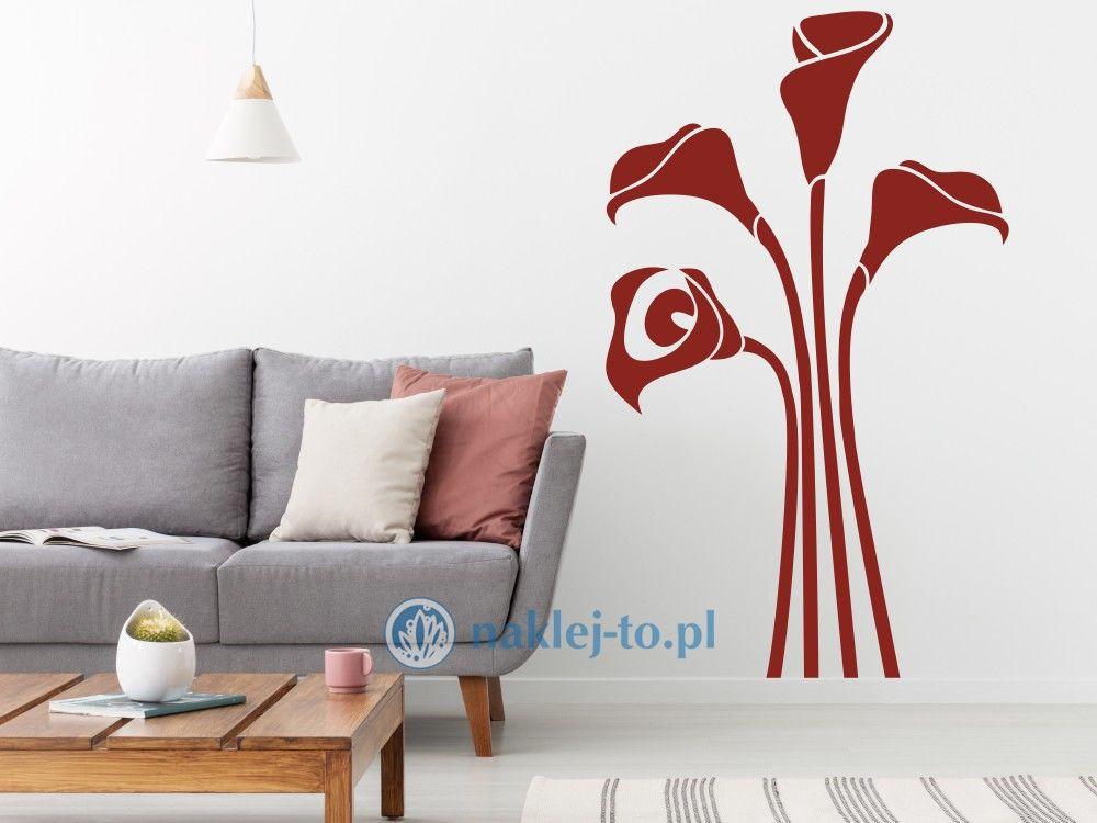 naklejka kalia kwiat Naklejka na ścianę