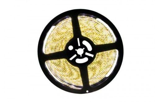 Taśma LED 300SMD5050 biała ciepła wodoodporna IP65 - 5m