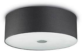 Plafon Woody PL5 122212 Ideal Lux nowoczesna oprawa w kolorze czarnym