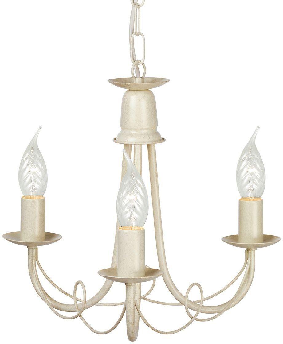 Minster Ivory Gold - Elstead Lighting - lampa wisząca klasyczna
