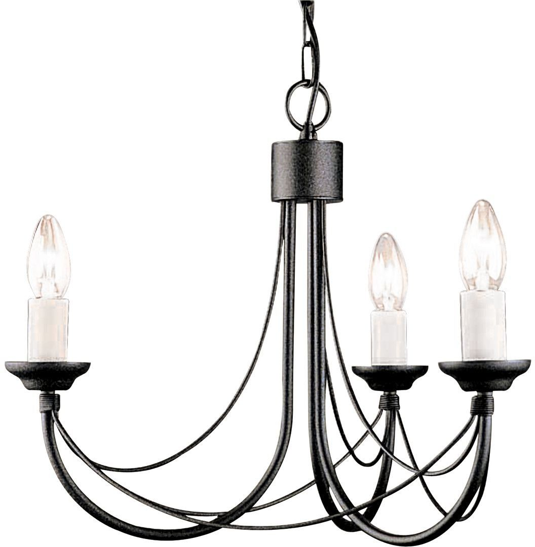 Carisbrooke Black - Elstead Lighting - lampa wisząca klasyczna