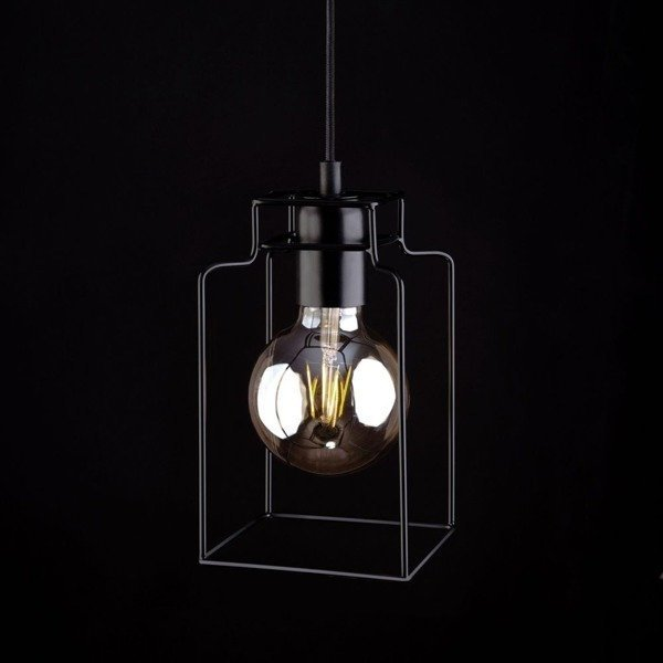 Lampa vintage FIORD kostka zwis 150cm 9668