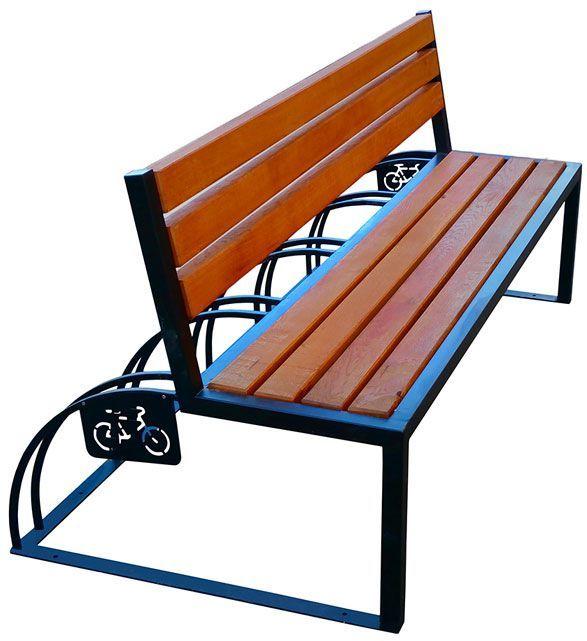Ławka parkowa drewniana Ronson 150 cm - 84 kolory