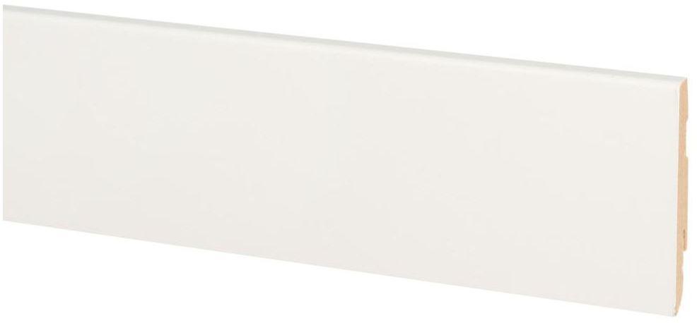 Listwa przypodłogowa mdf biała SF 68 mm Fn profile