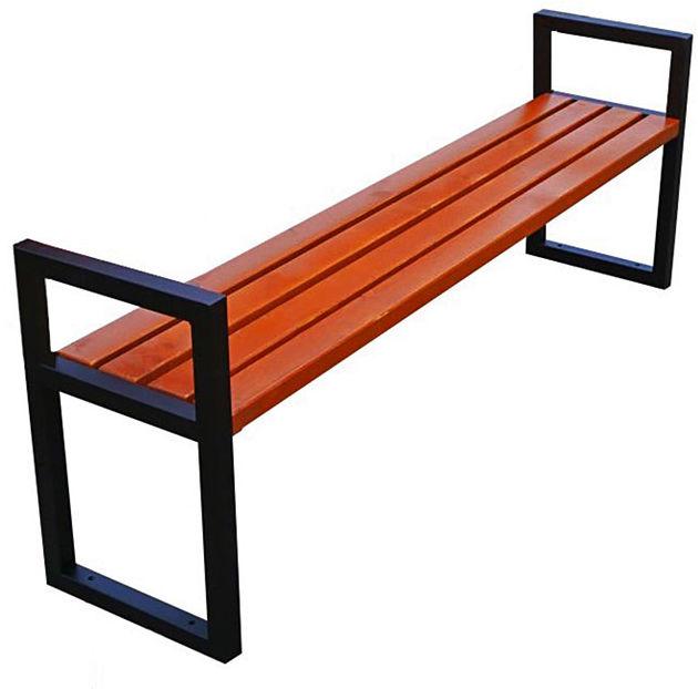 Nowoczesna ławka parkowa Dianema 150 cm - 84 kolory