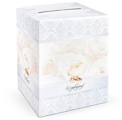 Pudełko weselne na koperty z życzeniami, prezentami 25x25x30cm PUDT2