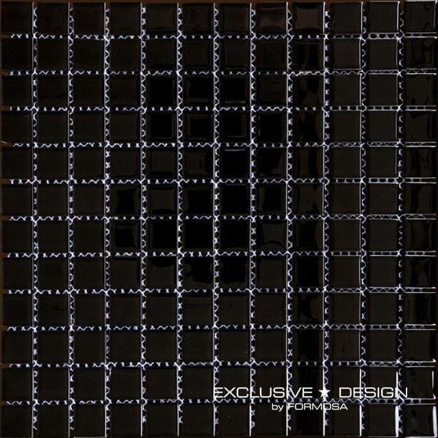MIDAS - Mozaika szklana 4mm A-MGL04-XX-011 czarna