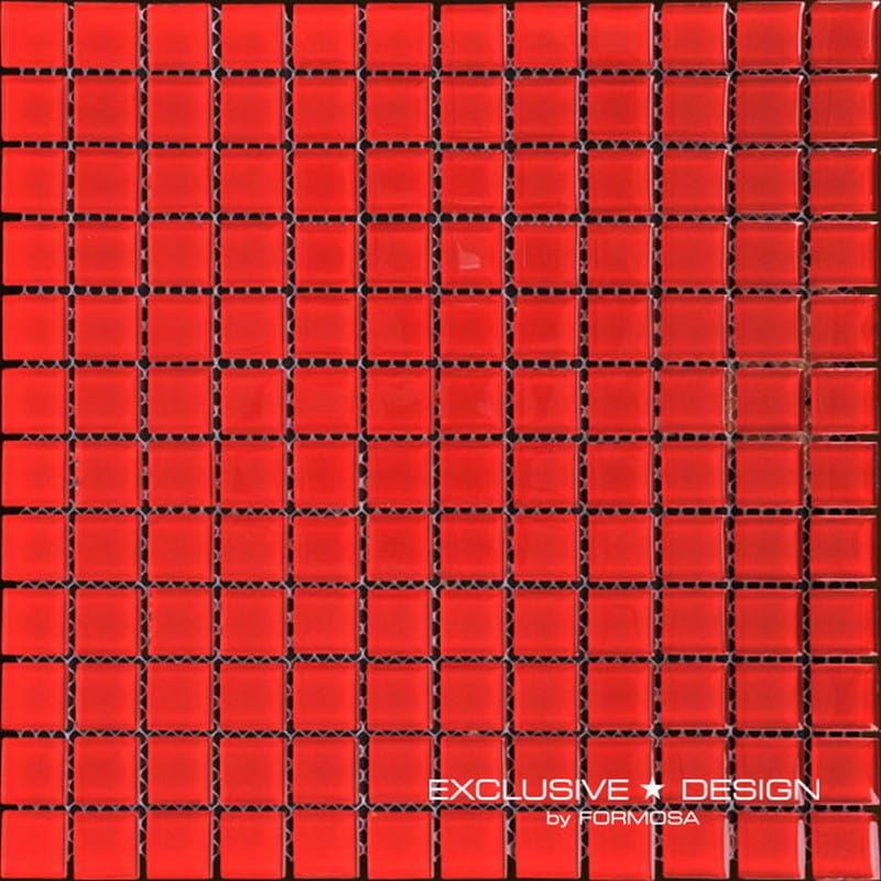 MIDAS - Mozaika szklana 4mm A-MGL04-XX-015 czerwona