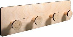 Rayher 62986505 drewniana garderoba, FSCMixCredit, naturalna, 42 x 12 x 4,5 cm, 9-częściowa, pudełko 1 zestaw, normalna