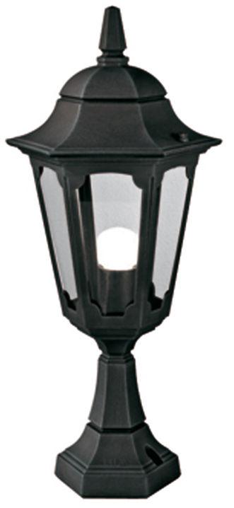 Lampa stojąca zewnętrzna Parish PR4 BLK Elstead Lighting dekoracyjna oprawa w klasycznym stylu