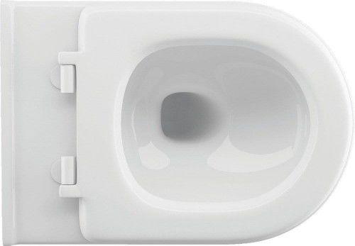WC BIDET Rimless=miska wc bezkołnierzowa z dyszą bidetową36,5x52,5 cm
