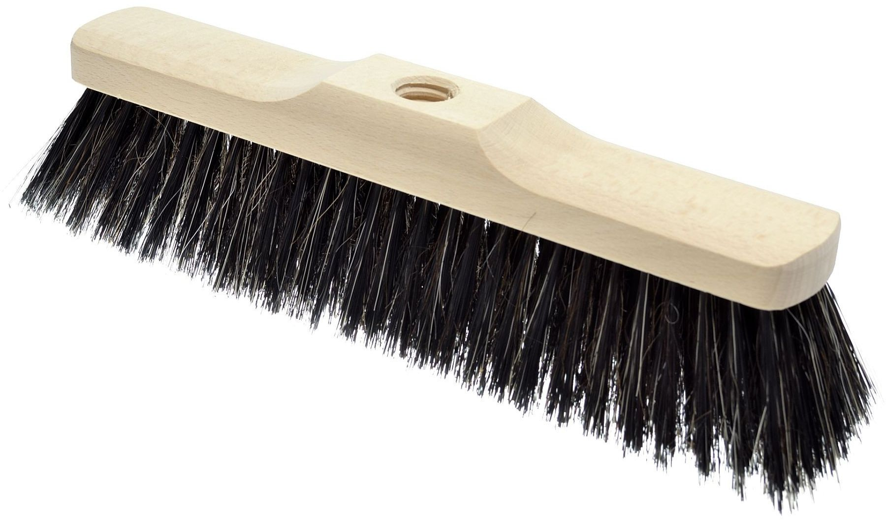Szczotka do zamiatania drewniana (włosie mieszane) 40cm