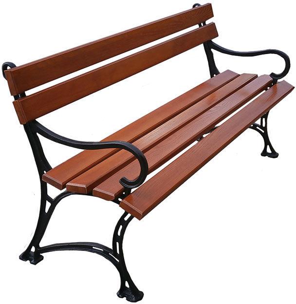 Aluminiowa ławka ogrodowa Helen 3X 150cm - 7 kolorów