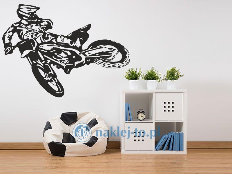 naklejka na ścianę Motocross 1 naklejka na ścianę