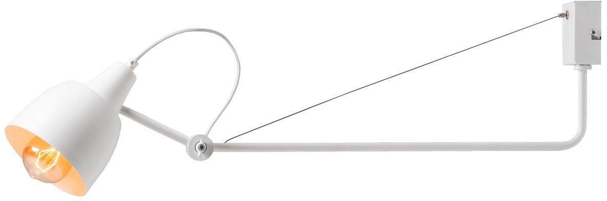 Kinkiet Arsen 1 punktowy biały 1030C skandynawski regulowany - Aldex Do -17% rabatu w koszyku i darmowa dostawa od 299zł !