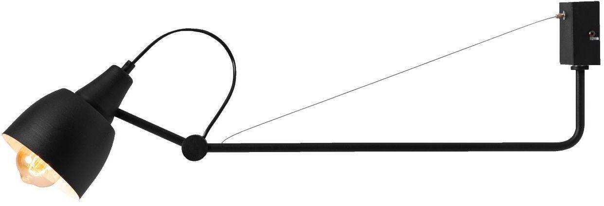 Kinkiet Arsen 1 punktowy czarny regulowany 1030C1 loftowy - Aldex Do -17% rabatu w koszyku i darmowa dostawa od 299zł !