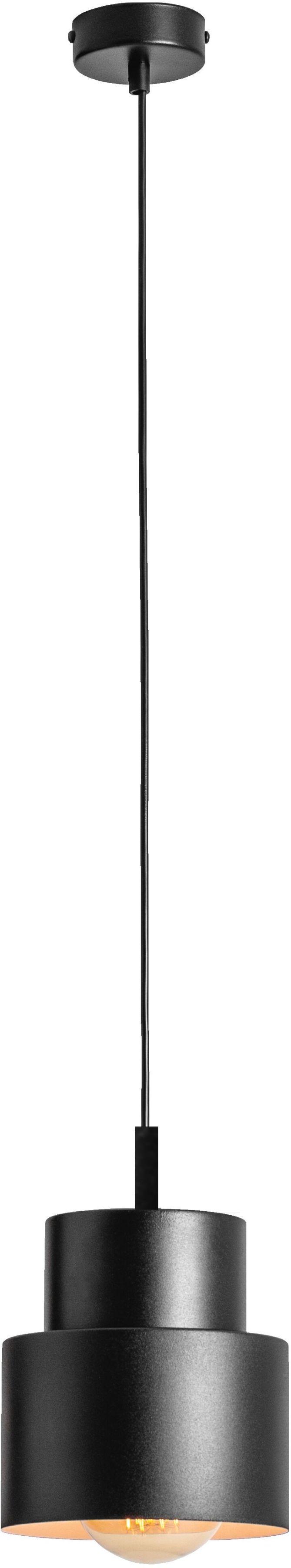 Lampa wisząca 1 punktowa Kadm 1028G1 czarna - Aldex Do -17% rabatu w koszyku i darmowa dostawa od 299zł !