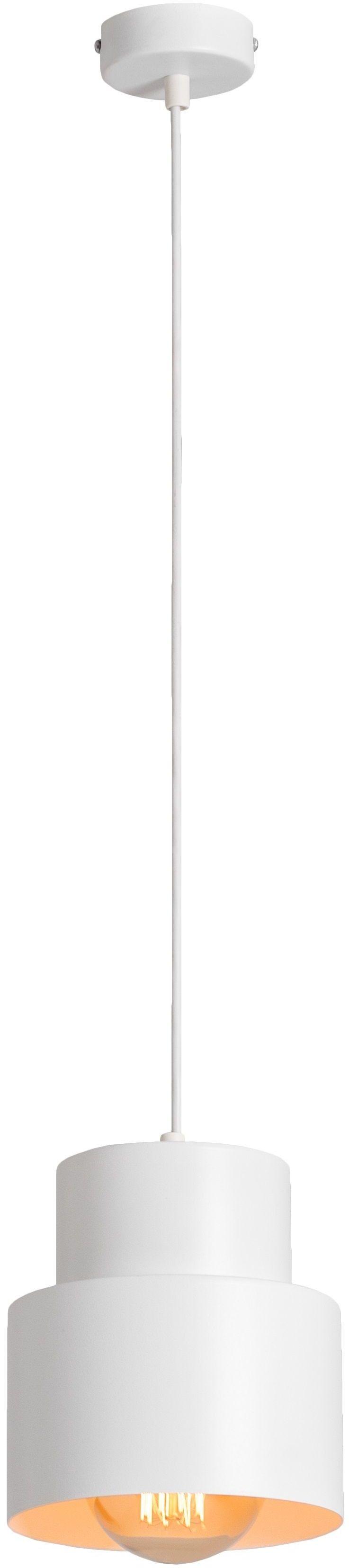 Lampa wisząca 1 punktowa Kadm biała 1028G - Aldex Do -17% rabatu w koszyku i darmowa dostawa od 299zł !