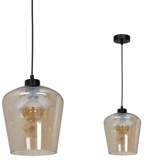 Nowoczesna lampa wisząca SANTIAGO AMBER MLP6607