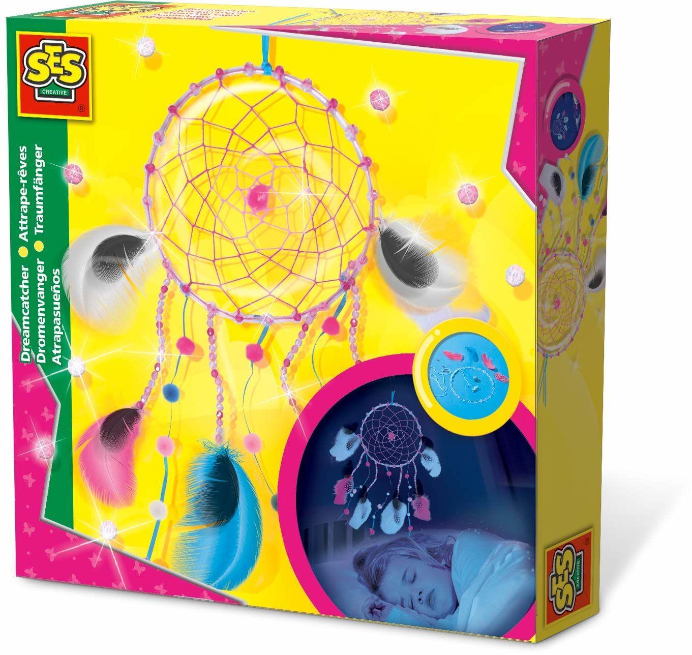 SES Deutschland GmbH 14926 - łapacz snów, zestaw do majsterkowania dla dzieci,