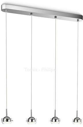 Philips Cypress 53225/11/16 lampa wisząca nowoczesna LED