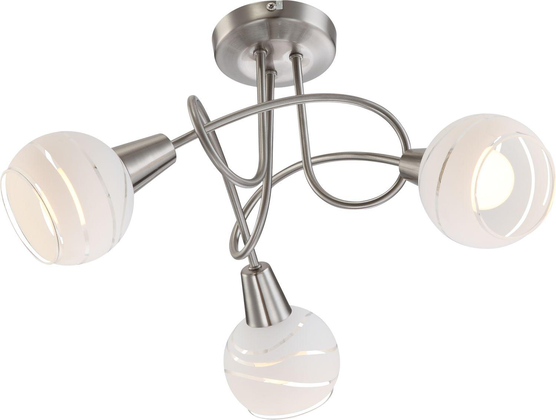 Globo plafon lampa sufitowa Elliott 54341-3 nikiel mat LED 3x5W 3000K 39cm