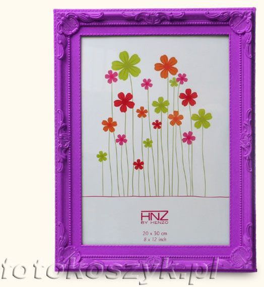 Ramka Henzo Colour Barok Purpura (na zdjęcie 20x30)