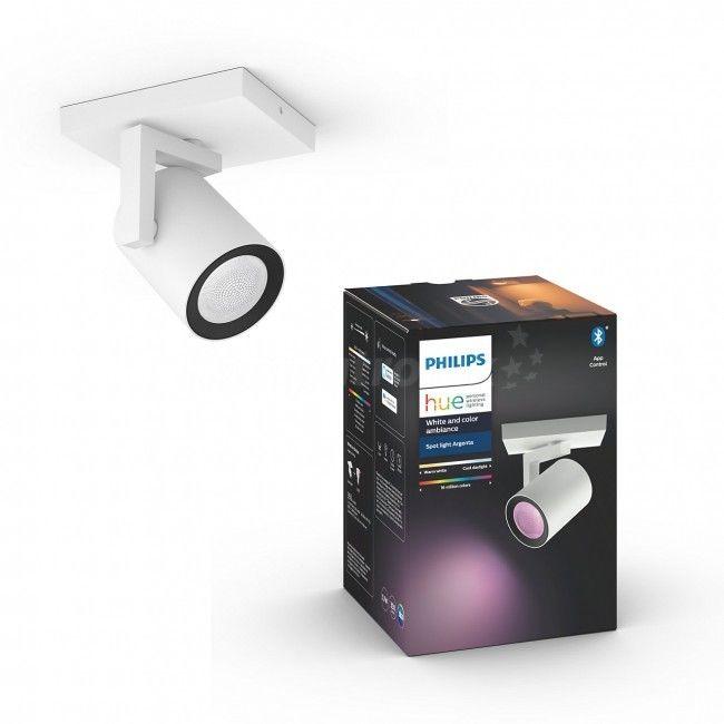 == WYSYŁKA 48H == PHILIPS HUE Pojedyncze oświetlenie punktowe Argenta 50621/31/P7 White and color ambiance Bluetooth