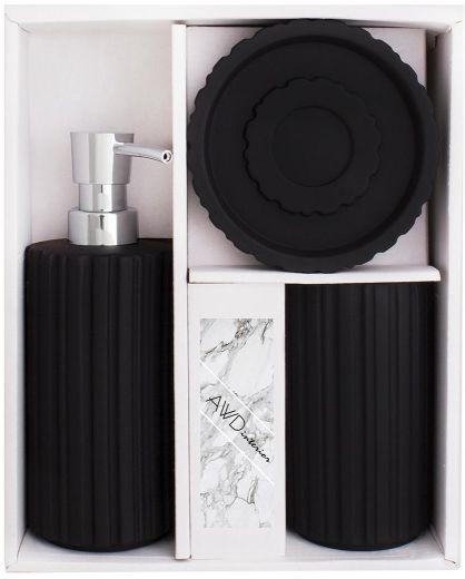 Komplet łazienkowy INDUSTRIO czarny