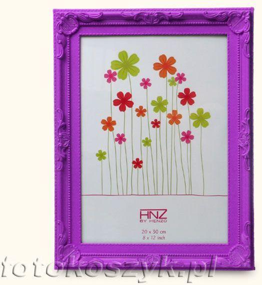 Ramka Henzo Colour Barok Purpura (na zdjęcie 13x18)