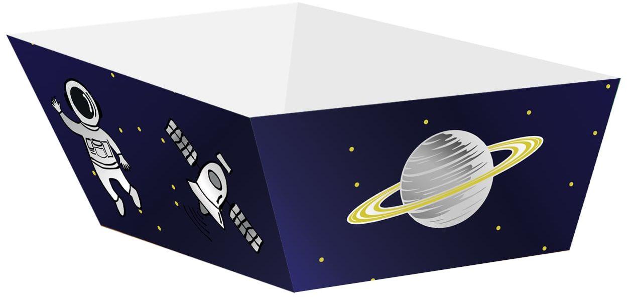 Pudełka na chipsy Kosmos - 4 szt.