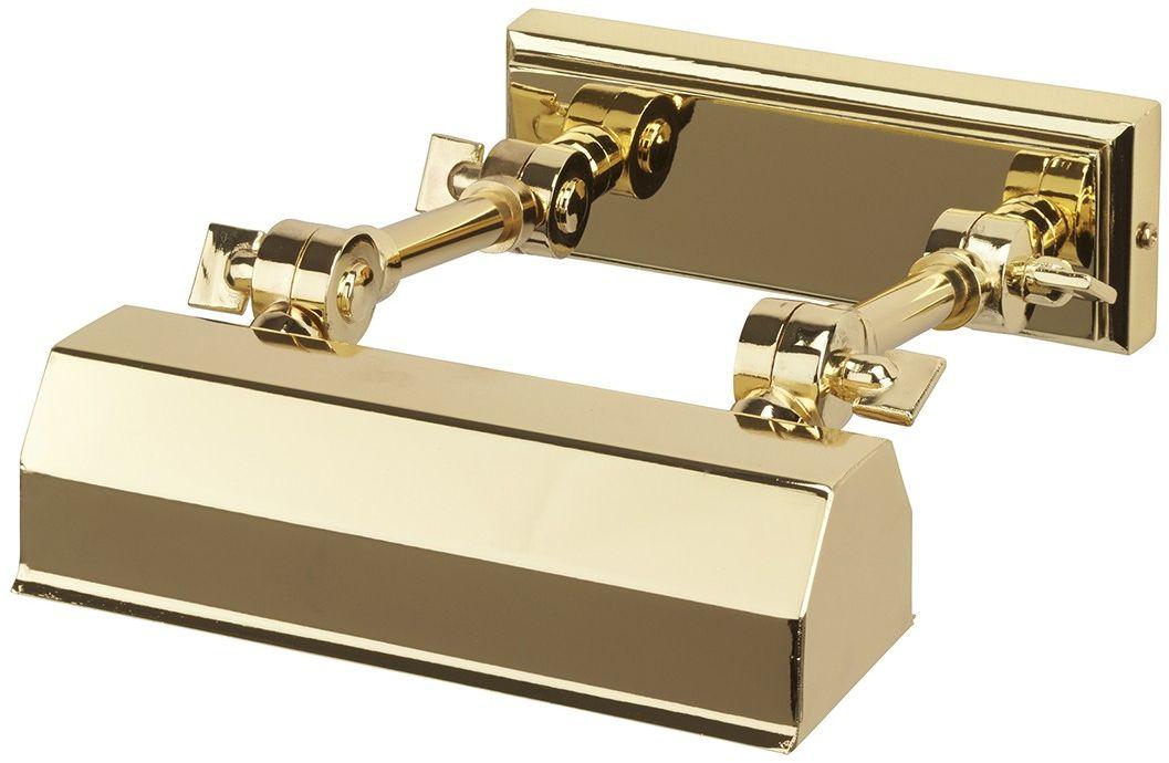 Chawton Polished Brass - Elstead Lighting - kinkiet klasyczny