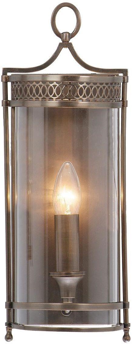 Guildhall Dark Bronze - Elstead Lighting - kinkiet klasyczny