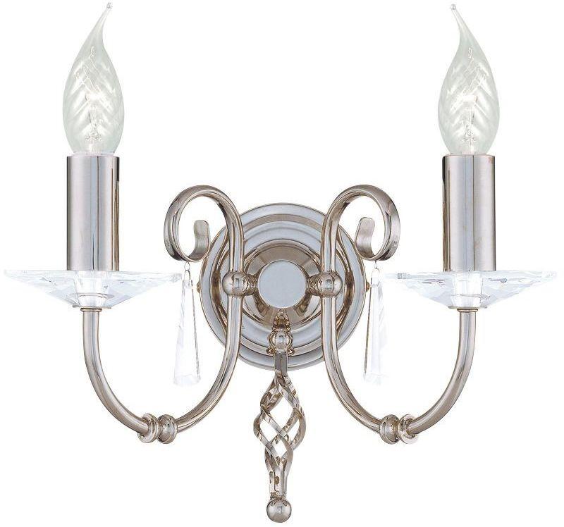 Aegean Polished Nickel - Elstead Lighting - kinkiet klasyczny