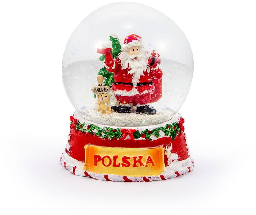 Kula śniegowa Świąteczna 65mm