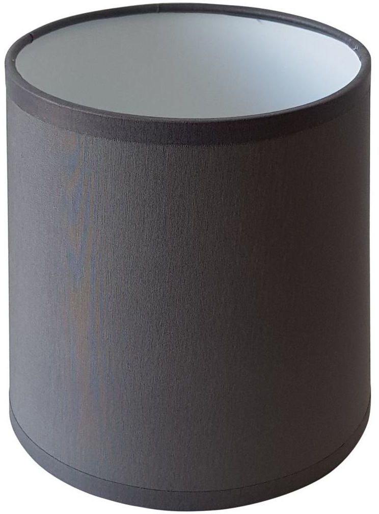 Abażur 9965 walec 20 x 16 cm tkanina beton E27 TK LIGHTING
